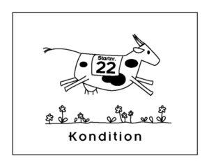 Konditionierte Kuh