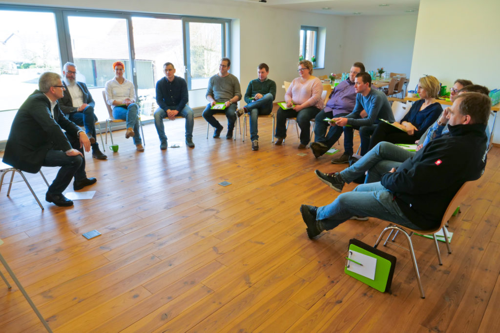 "Workshop zum Thema ""Arbeitsorganisation"""