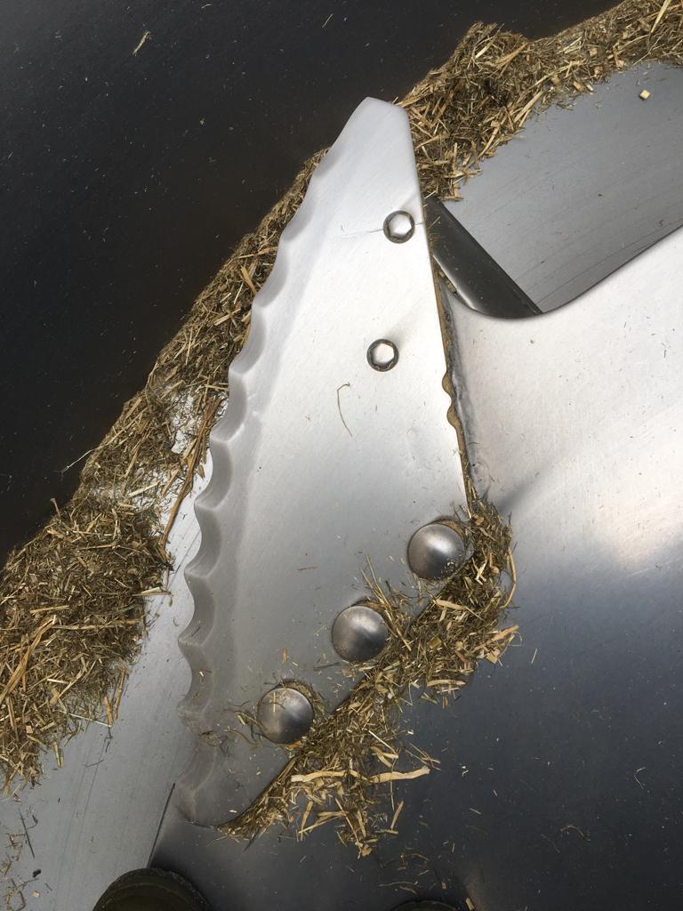 Wichtig bei hohen Außentemperaturen: Super scharfe Messer!